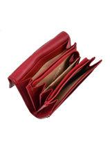 Porte-monnaie Cuir Katana Rouge daisy 553041-vue-porte