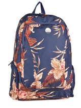 Sac à Dos 3 Compartiments + Pc 15'' Roxy Bleu back to school JBP03275