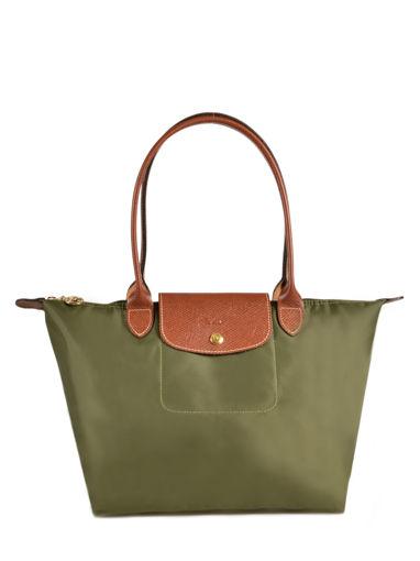 Longchamp Besace Vert