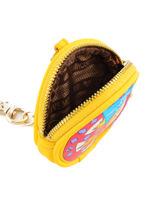 Porte-monnaie Love moschino Jaune accessory JC5400PP-vue-porte