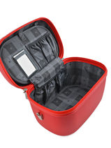 Beauty Case Snowball Rouge robust lite 31935-vue-porte