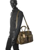 Porte Documents The Bag Cowboysbag Vert vegetal 1030-vue-porte