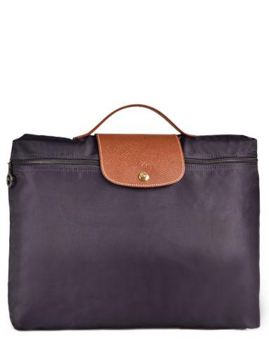 Longchamp Serviette Violet