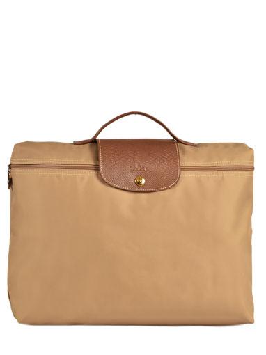 Longchamp Aktetas Beige