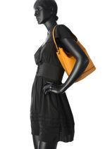 Longchamp Sac porté travers Noir-vue-porte