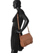Sac à Main Soft Vintage Clara Cuir Lancaster Marron soft vintage clara 578-19-vue-porte