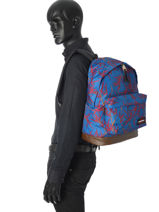 Sac à Dos 1 Compartiment Eastpak Bleu pbg authentic PBGK811-vue-porte