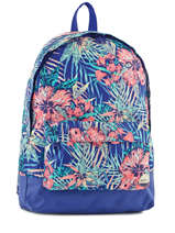 Sac à Dos 1 Compartiment Roxy Bleu backpack RJBP3406