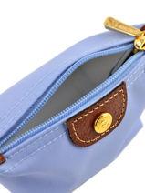 Longchamp Portemonnee Blauw-vue-porte