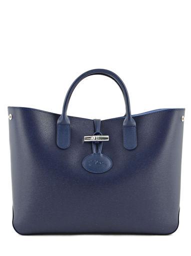 Longchamp Roseau Sac porté main Bleu