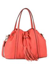 Bucket Bag Tradition Leder Etrier Rood tradition EHER001