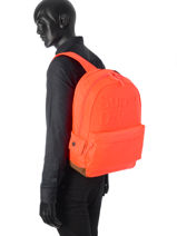 Sac à Dos 1 Compartiment Superdry Orange backpack M91003DO-vue-porte
