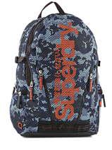 Sac à Dos 2 Compartiments Superdry Bleu backpack M91006DO