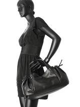 Sac Shopping Gd Cuir Gerard darel Noir gd DES07410-vue-porte