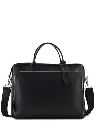 Longchamp Aktetas Zwart