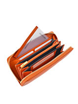 Tout-en-un Cuir Yves renard Orange foulonne 29784-vue-porte