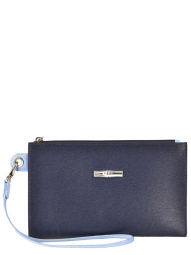 Longchamp Roseau Pochette/trousse Bleu