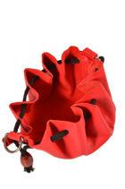 Porte-monnaie Cuir Petit prix cuir Rouge basic 0016-vue-porte