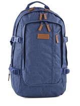 Sac à Dos 2 Compartiments + Pc 15'' Eastpak Bleu core series K221