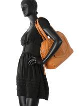 Sac Shopping Monica Cuir Pieces Marron monica 17080825-vue-porte