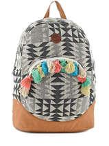 Sac à Dos 1 Compartiment Roxy Multicolore backpack RJBP3441