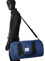 Sac De Voyage Supply Herschel Bleu supply 10023-vue-porte