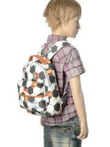 Sac à Dos Jeune premier Multicolore bagage BP16-vue-porte