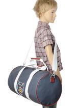 Sac De Sport Jeune premier Bleu bagage SB16-vue-porte