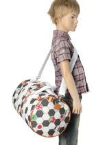 Sac De Sport Jeune premier Multicolore bagage SB16-vue-porte