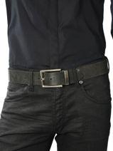 Herenriem Leder Redskins Zwart accessoires 15317-vue-porte