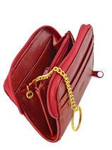 Portefeuille Cuir Spirit Rouge medium 6526-vue-porte
