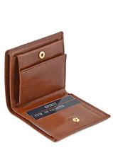 Porte-monnaie Cuir Spirit Marron medium 6552-vue-porte