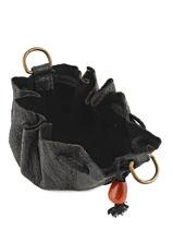 Porte-monnaie Cuir Petit prix cuir Noir basic 16A-vue-porte
