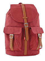 Sac à Dos 1 Compartiment + Pc 15'' Herschel Rouge classics 10233