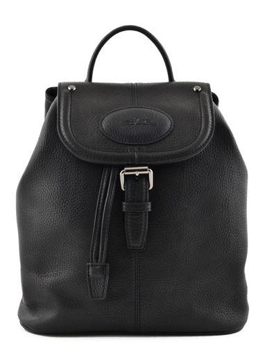 Longchamp Mystery Sac à dos Noir