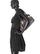 Sac Shopping Espana Miniprix Noir espana 7814ES-vue-porte