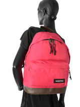 Sac à Dos 1 Compartiment Eastpak Rouge pbg authentic PBGK811-vue-porte