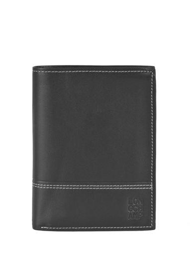 Longchamp Cavalier Portefeuille Noir