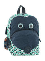 Sac à Dos Mini Kipling Bleu back to school 8568