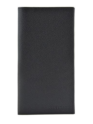 Longchamp Porte chéquier Noir
