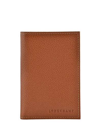 Longchamp Porte billets/cartes Marron