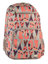 Sac A Dos 2 Compartiments Roxy Gris backpack JBP03400