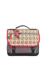 Cartable 2 Compartiments Cameleon Rose new basic NBA-CA35