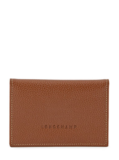 Longchamp Porte billets/cartes Marron