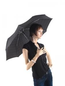 Paraplu Esprit Zwart gents mini tecmatic 50350-vue-porte