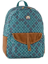 Sac à Dos 1 Compartiment Roxy Bleu back to school soul RJBP3537
