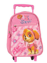 Sac A Dos A Roulettes Paw patrol Rose skye 5855075P