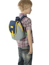 Sac A Dos Mini Kickers Gris presence kids 701310PS-vue-porte