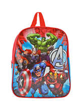 Sac à Dos Mini Avengers Rouge basic AST0746