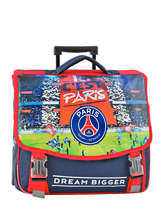 Cartable à Roulettes 2 Compartiments Paris st germain Multicolore paris 173P203R